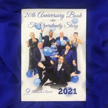 20th Anniversary Book - The Operatunity Story Available Now!