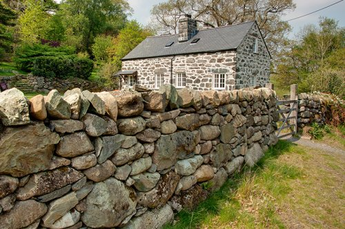 Traditional Welsh Stone house