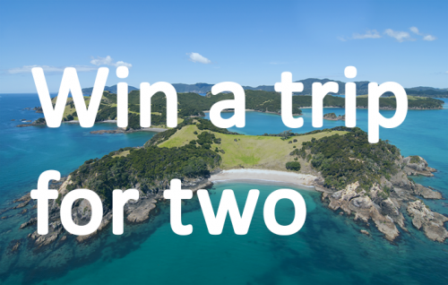 Win a trip for two!